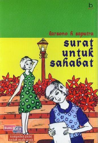 Cover Buku Surat Untuk Sahabat