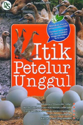Cover Buku Itik Petelur Unggul