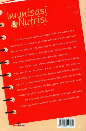 Cover Belakang Buku Imunisasi dan Nutrisi