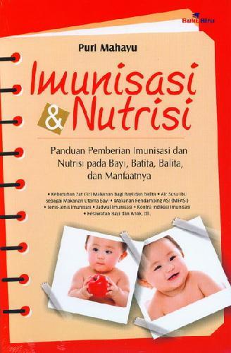 Cover Buku Imunisasi dan Nutrisi