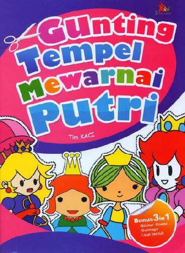 Cover Buku Gunting Tempel Mewarnai Putri