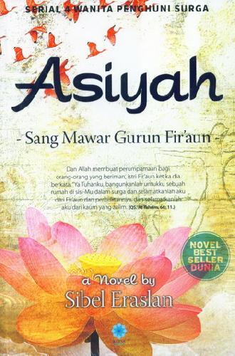 Cover Buku Asiyah: Sang Mawar Gurun Firaun