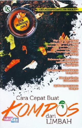 Cover Buku Cara Cepat Buat Kompos dari Limbah
