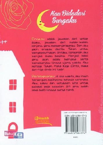 Cover Belakang Buku Kau Bidadari Surgaku