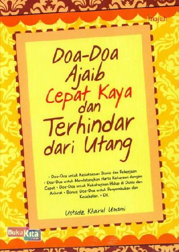Cover Buku Doa-Doa Ajaib Cepat Kaya dan Terhindar dari Utang