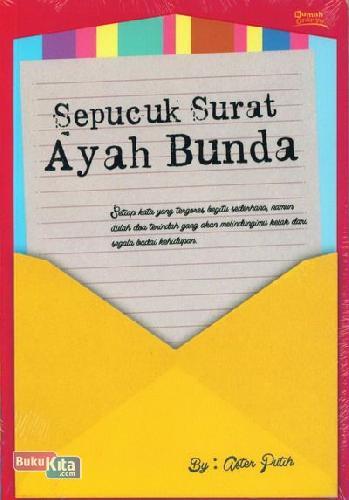 Cover Buku Sepucuk Surat Ayah Bunda