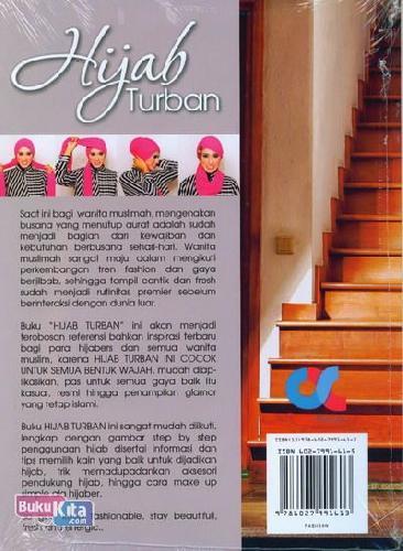 Cover Belakang Buku Hijab Turban