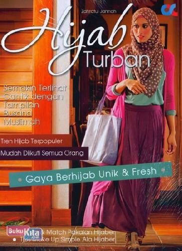 Cover Buku Hijab Turban