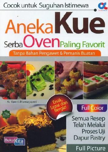 Cover Buku Aneka Kue Serba Oven Paling Favorit (Full Color)