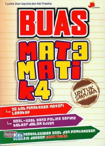 Cover Buku Buas Matematika Untuk SMA/MA