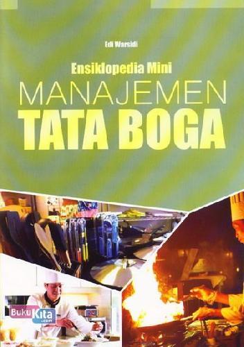 Cover Buku Ensiklopedia Mini: Manajemen Tata Boga (Full Color)