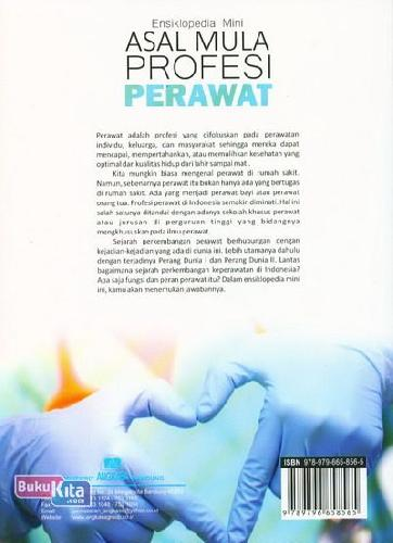 Cover Ensiklopedia Mini: Asal Mula Profesi Perawat (Full Color)