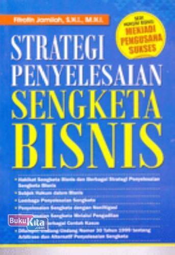 Cover Buku Strategi Penyelesaian Sengketa Bisnis