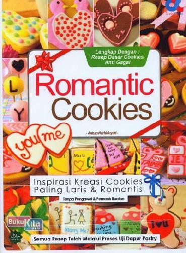 Cover Buku Romantis Cookies