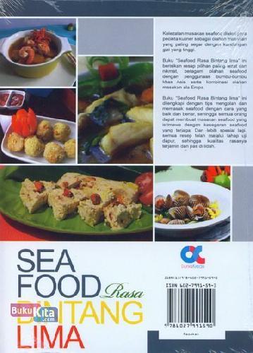 Cover Belakang Buku Seafood Rasa Bintang Lima