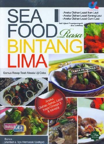 Cover Buku Seafood Rasa Bintang Lima