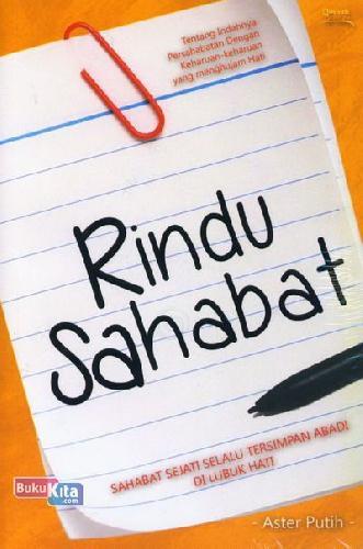 Cover Buku Rindu Sahabat