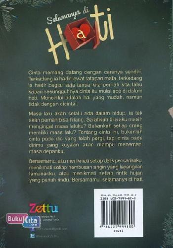 Cover Belakang Buku Selamanya di Hati