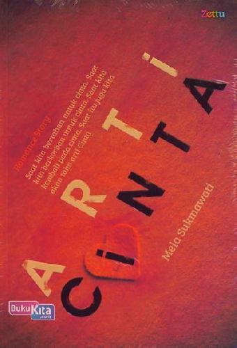 Cover Buku Arti Cinta