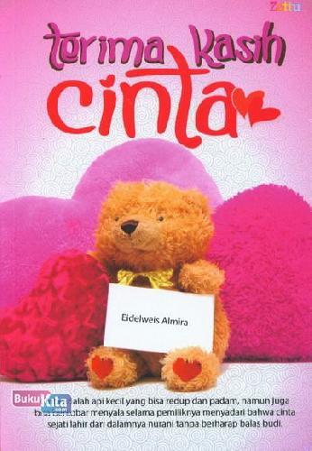 Cover Buku Terima Kasih Cinta