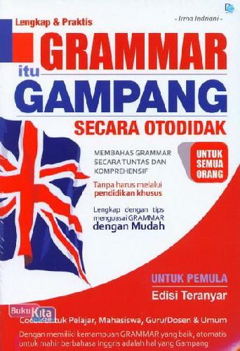 Cover Buku Grammar Itu Gampang Secara Otodidak