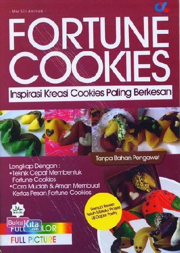 Cover Buku Fortune Cookies: Inspirasi Kreasi Cookies Paling Berkesan (Full Color)