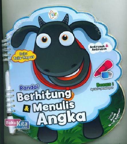 Cover Buku Pandai Berhitung & Menulis Angka (Untuk Anak 4-6 tahun)