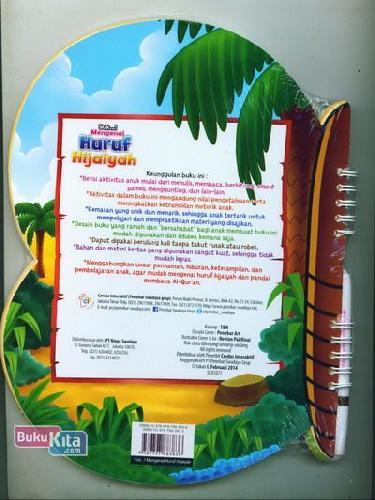 Cover Belakang Buku Yuk Mengenal Huruf Hijaiyah (untuk anak 4-6 tahun)