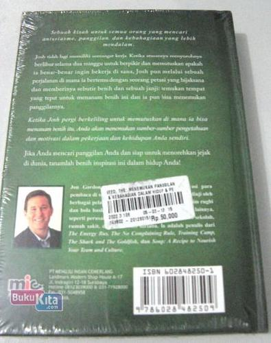 Cover Belakang Buku THE SEED: Menemukan Panggilan dan Kebahagiaan Dalam Hidup dan Pekerjaan
