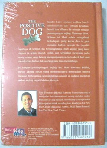 Cover Belakang Buku The Positive Dog