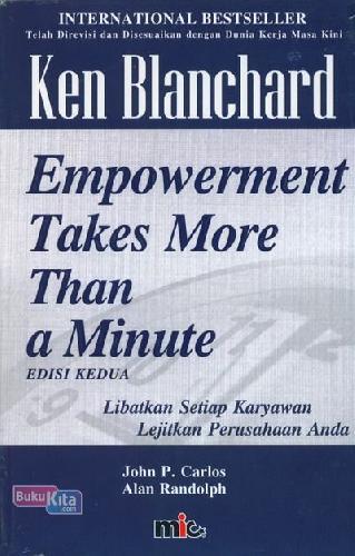 Cover Buku Empowerment Takes More Than a Minute Edisi Kedua