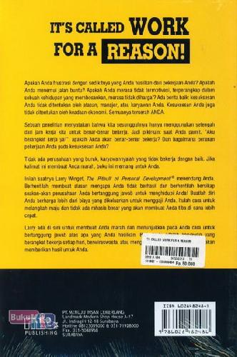 Cover Belakang Buku It's Called Work For A Reason