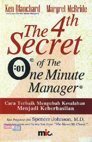 Cover Buku The 4th Secret of The One Minute Manager