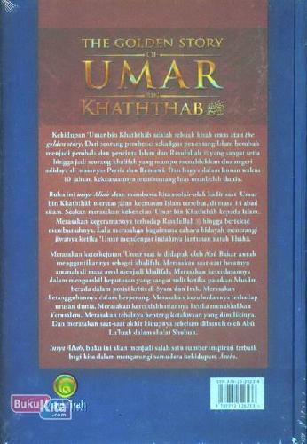 Cover Belakang Buku The Golden Story Of Umar Bin Khaththab