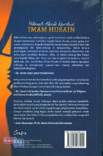 Cover Belakang Buku Hikmah Abadi Revolusi Imam Husain
