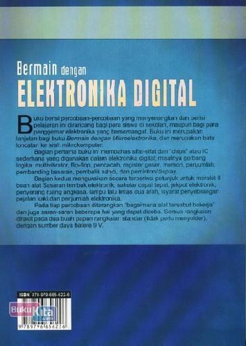 Cover Belakang Buku Bermain Dengan Elektronika Digital