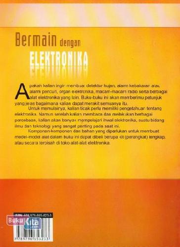 Cover Belakang Buku Bermain Dengan Elektronika