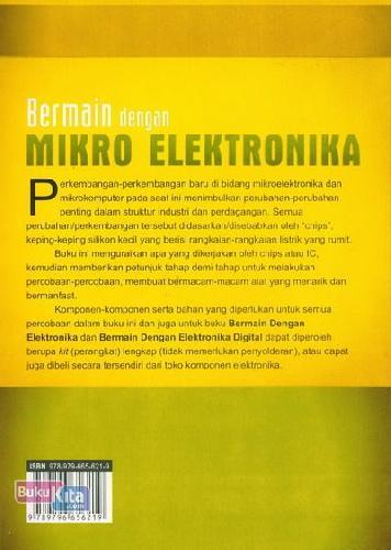 Cover Belakang Buku Bermain Dengan Mikro Elektronika