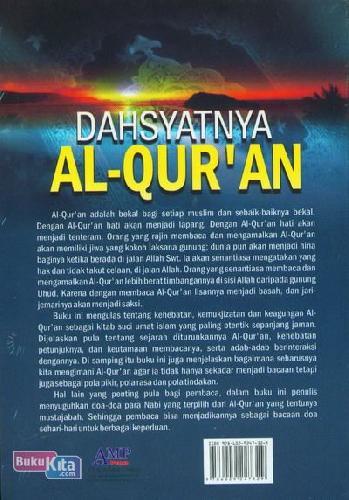 Cover Belakang Buku Dahsyatnya Al-Quran