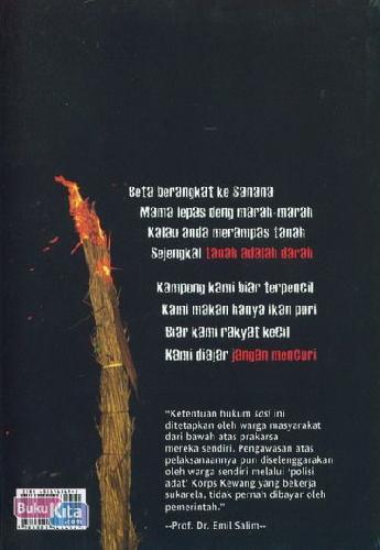 Cover Belakang Buku Kapata Kewang Haruku & Sasi Aman Haru-Ukul