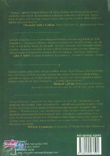 Cover Belakang Buku Narasi Islam dan Otoritas Di Asia Tenggara