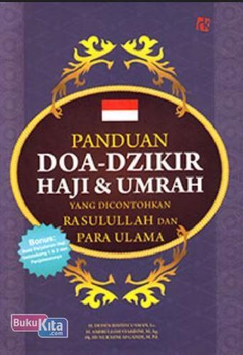 Cover Buku Panduan Doa-Dzikir Haji & Umrah