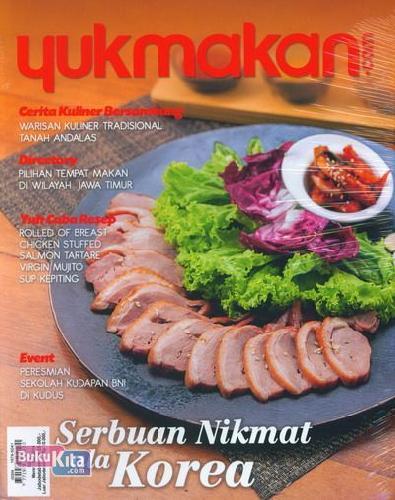 Cover Buku Yukmakan.com Edisi 29 | Maret - Mei 2014