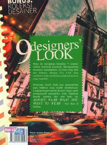 Cover Belakang Buku 9 Designers Look