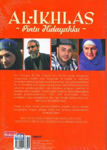Cover Belakang Buku AL-IKHLAS Pintu Hidayahku