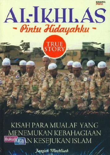 Cover Buku AL-IKHLAS Pintu Hidayahku