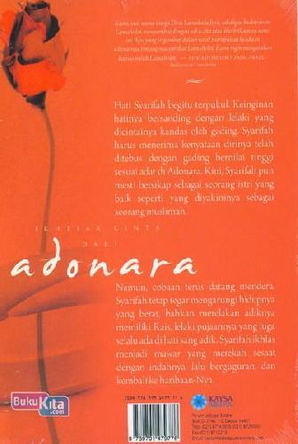 Cover Belakang Buku Ikhtiar Cinta Dari Adonara (Novel Islami)