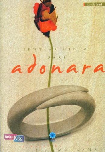 Cover Buku Ikhtiar Cinta Dari Adonara (Novel Islami)