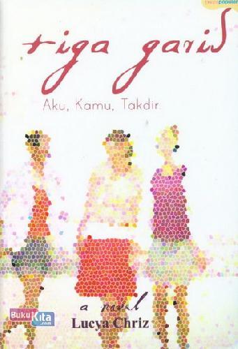 Cover Buku Tiga Garis Aku, Kamu, Takdir