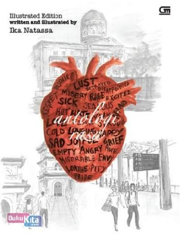 Cover Buku Antologi Rasa (Illustrated Edition)